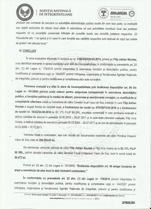 Raport ANI Adi Filip