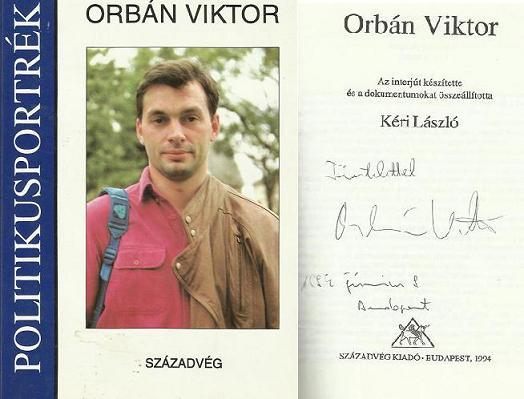 Viktor ORBAN dedicatie