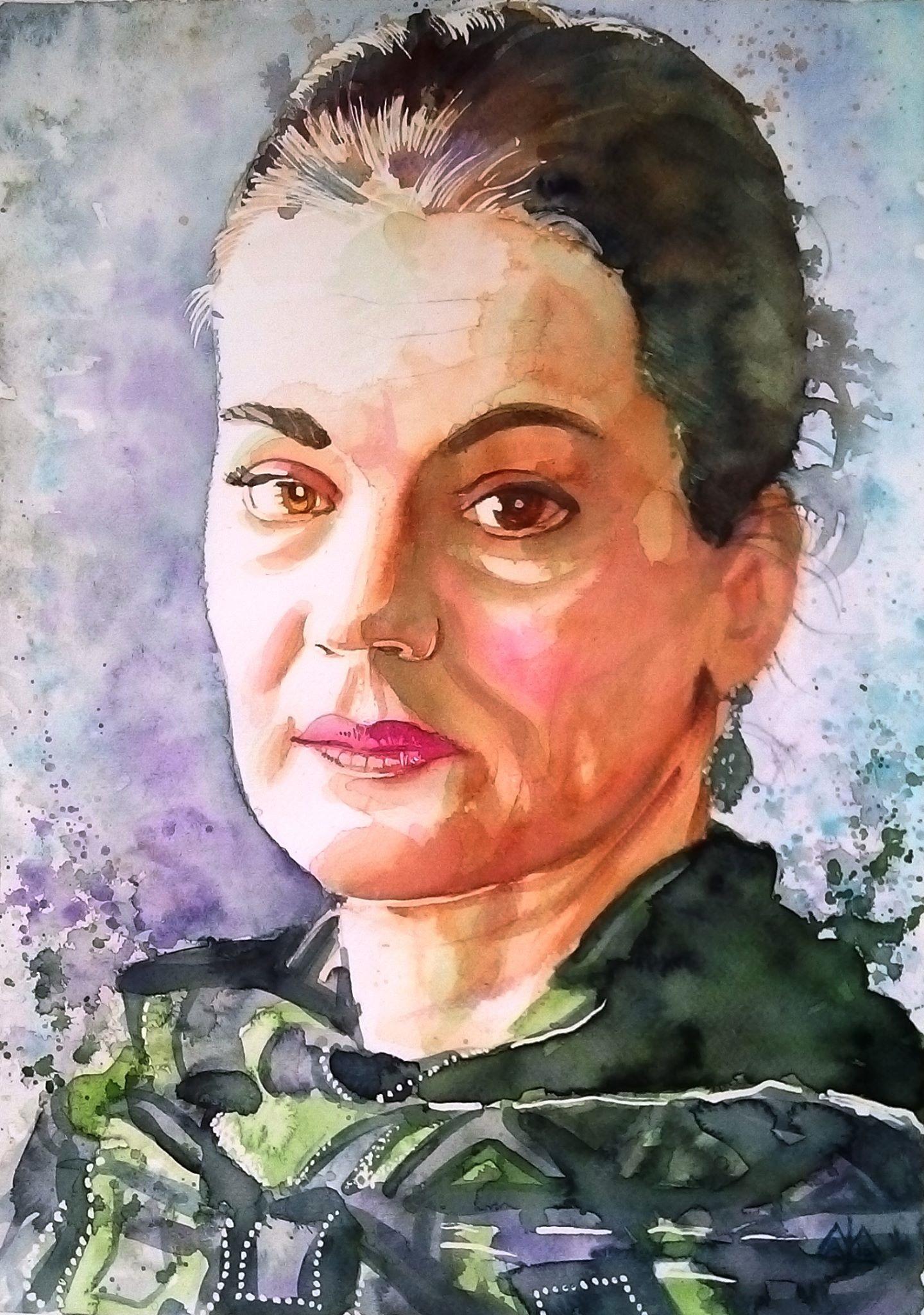 Maia Morgenstern by MILE László